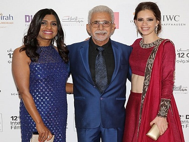 during day three of the 12th annual Dubai International Film Festival held at the Madinat Jumeriah Complex on December 11, 2015 in Dubai, United Arab Emirates.