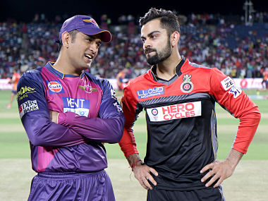 Kohli and Dhoni may battle in USA. Sportzpics/IPL