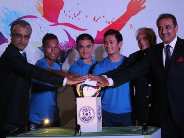 Photo of the launch of the 2017 FIFA U-17 World Cup