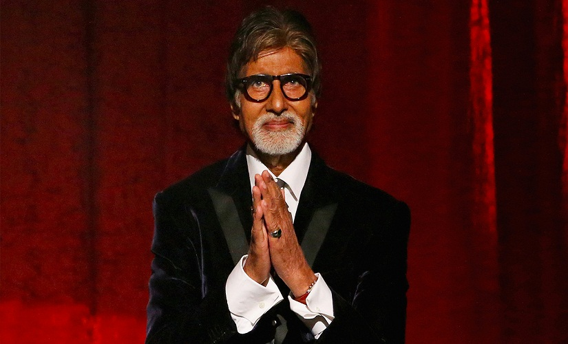 Off screen, Amitabh Bachchan is careful about putting his best foot forward when making public appearances. Image from Getty