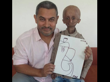 Nihal and his family had taken up the task of raising awareness about the disease. Image courtesy - Facebook/Aamir Khan