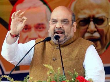 Shah was speaking at a rally in a bid to counter Gandhi's emotional speech in Thiruvananthapuram on Monday. PTI