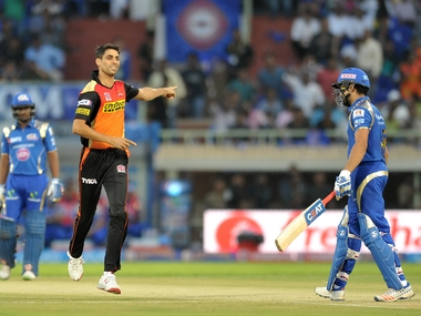 File photo of Ashish Nehra, playing for Sunrisers Hyderabad. BCCI