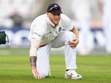 Ben Stokes during the first Test between England and Sri Lanka at Headingly. Getty