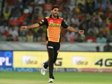 Sunrisers Hyderabad player Bhuvneshwar Kumar. BCCI