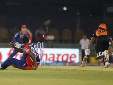 Carlos Braithwaite's run-out of Shikhar Dhawan was a wonderful moment of of destructive wizardry. BCCI