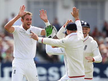 File image of Stuart Broad. Getty Images