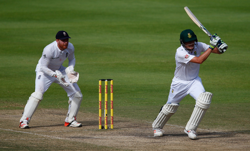 Chris Morris batting for South Africa against England in Cape Town. Getty Images