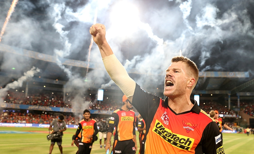 David Warner became the third Australian captain to lift the IPL trophy. BCCI