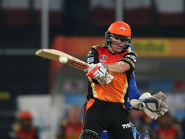 File photo of Sunrisers Hyderabad captain David Warner. Sportzpics/IPL