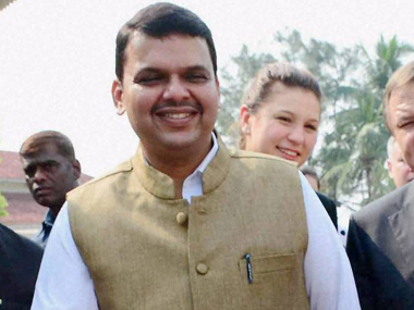 A file photo of Maharashtra Chief Minister Devendra Fadnavis. PTI