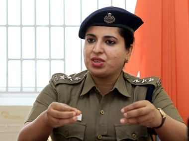 Dr Ruveda Salam is the first women Muslim IPS officer from Kashmir. Picture courtesy: Facaebook