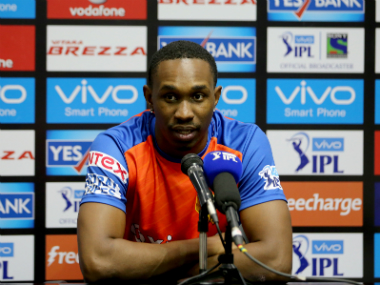 File photo of Dwayne Bravo. Sportzpics/IPL