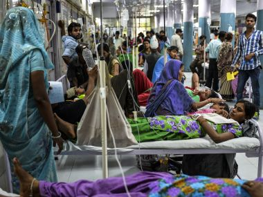 Hospitals and other emergency services do not need government permission to continue to accept the notes after demonetisation. AFP