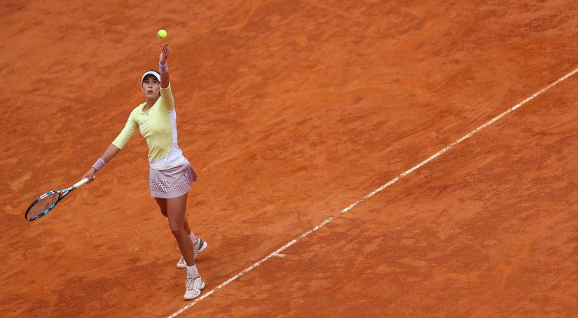 22-year-old Garbine Muguruza is one of the most impressive young talents on the tour. Getty Images