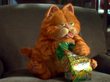 A still from the older 'Garfield' movie