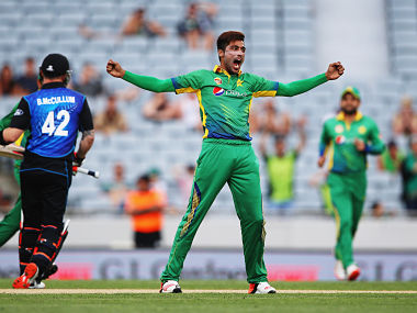 Mohammad Aamir returns to ground zero. Getty images