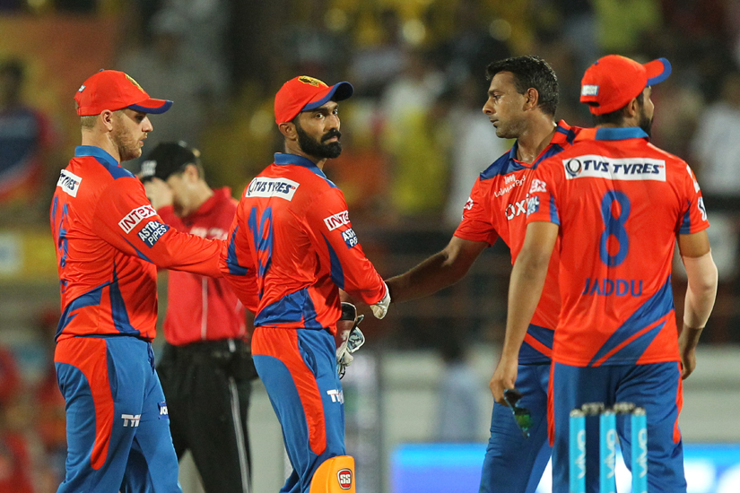 Gujarat Lions topped the IPL charts. BCCI