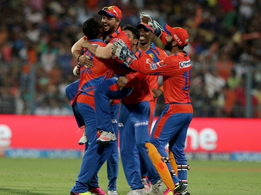 Gujarat Lions seamers bowled well against the Knight Riders. BCCI
