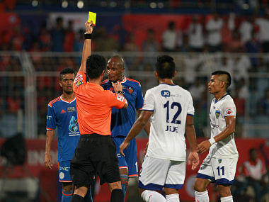 The ISL Final saw a lot of tussles between the FC Goa and Chennaiyin FC players. Sportzpics