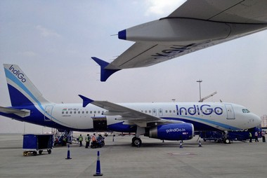 IndiGo Airlines. Reuters