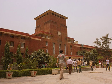 JNU campus. Image courtesy: IBNLive