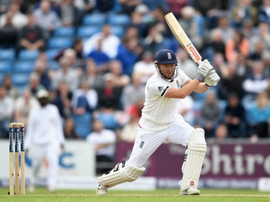 Jonny Bairstow en-route his century against Sri Lanka on Day Two of Headingly Test.