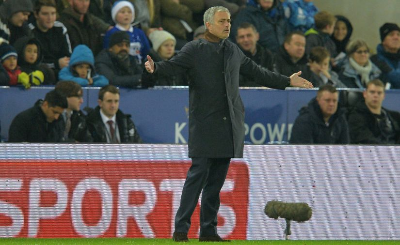 Jose Mourinho was sacked because of a rift with the players. AFP
