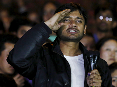 Kanhaiya Kumar. File photo. Reuters