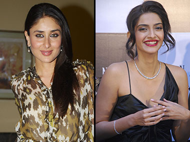 Kareena Kapoor and Sonam Kapoor. Reuters