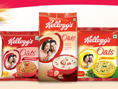 Kellogg's has found itself in trouble for its packaging of oats