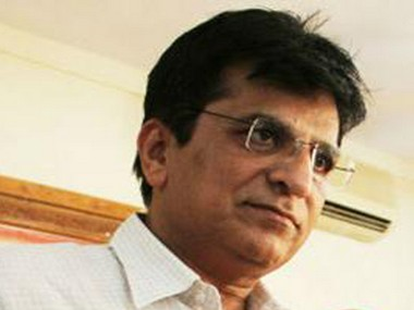 file photo of Kirit Somaiya. PTI