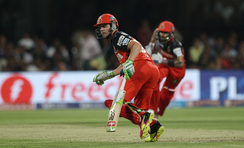 Batsmen came out swinging hard this IPL. Kohli and AB de Villiers formed an explosive partnership. Sportzpics