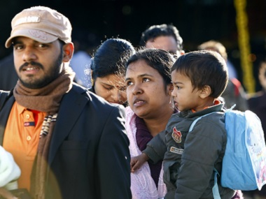 Indians being evacuated from Libya. File photo Reuters