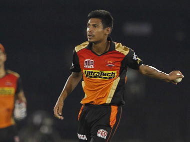 Mustafizur Rahman of Sunrisers Hyderabad. Sportzpics/IPL