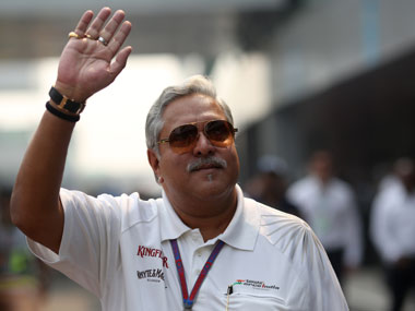 UB Group chairman Vijay Mallya. Reuters