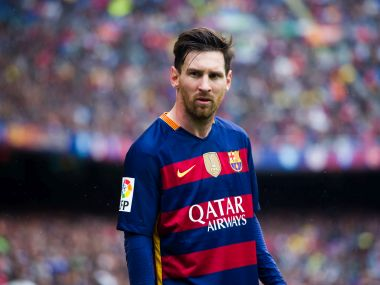 File photo of Lionel Messi of FC Barcelona. Getty