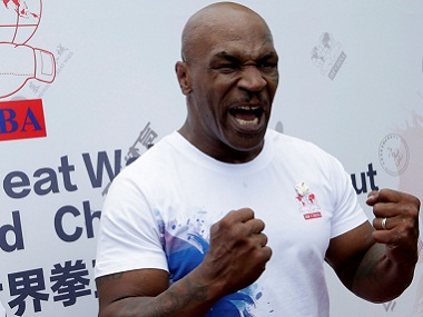 Mike Tyson was in China to promote professional boxing. Reuters