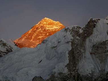 Mount Everest. AP