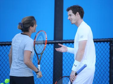 File photo of Andy Murray and Amelie Mauresmo. GettyImages
