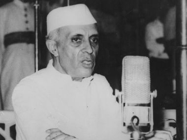 Former Prime Minister Jawaharlal Nehru. Getty Images