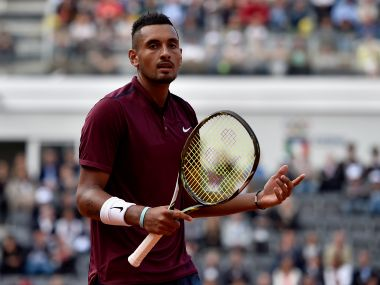 Nick Kyrgios of Australia. Getty Images