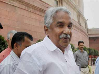 File image of Oommen Chandy. PTI