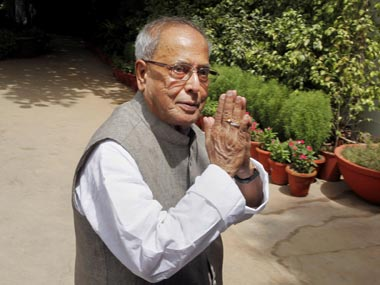 File image of Pranab Mukherjee. AP
