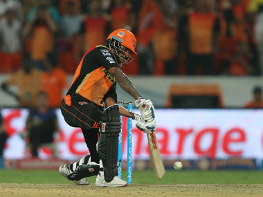 Shikhar Dhawan of Sunrisers Hyderabad. SportzPics