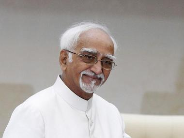 A file photo of Vice President Hamid Ansari. Reuters