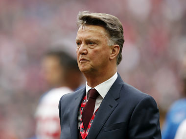 Louis van Gaal sacked according to British reports. Reuters