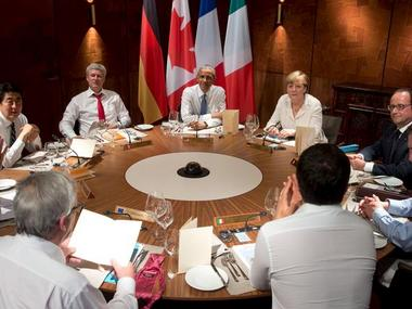Leaders from the Group of Seven (G7) industrial nations. File Photo. Reuters