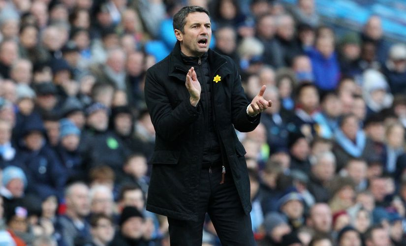 Remi Garde's miserable four-month reign at Aston Villa ended in March. AFP