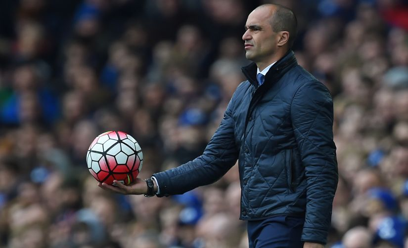 Roberto Martinez initially made a great impression with Everton but left with his reputation tarnished. AFP